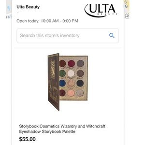 Wizardry and Witchcraft Eyeshadow Palette